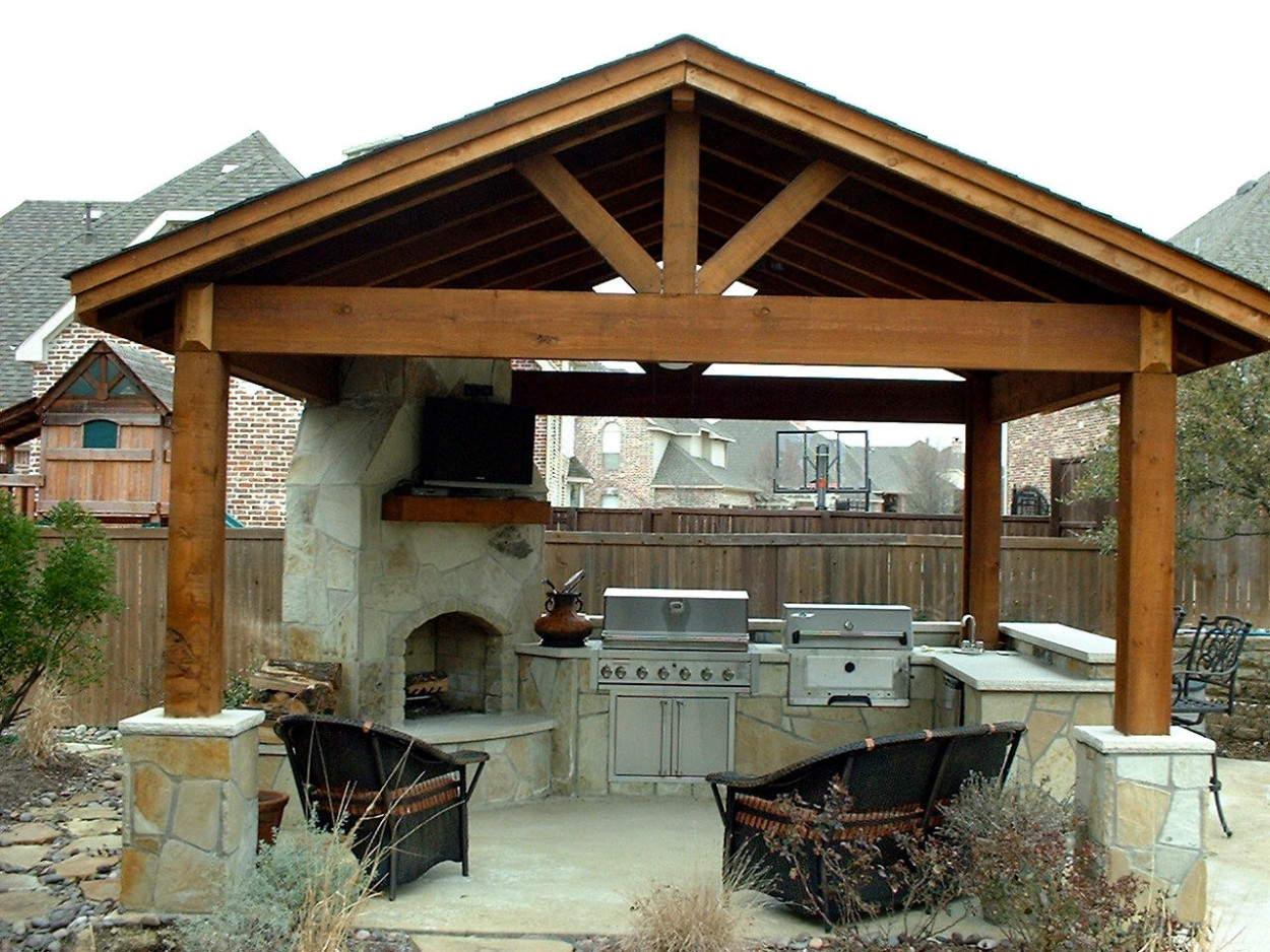 Outdoor kitchens is among the preferred house decoration for Outdoor kitchen ideas plans